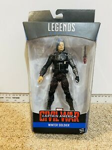 Marvel Legends Captain America Civil War Winter Soldier Action Figure No Gun