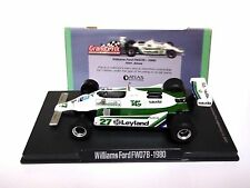 RBA ATLAS Editions Williams Ford FW07B - 1980 Alan Jones Escala 1:43 (! como Nuevo!)