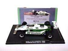 RBA ATLAS Editions Williams Ford FW07B - 1980 Alan Jones 1:43 Scale (MINT!)