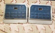 1974 1975 International Pick Up Truck Front Door Panels OEM