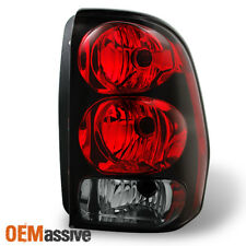 02-09 Trailblazer Red Clear Passenger Right Tail light Brake Lamp Replacement
