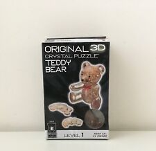 New Original 3D Crystal Puzzle Teddy Bear
