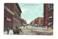 FRONT STREET, BELLEVILLE, ONTARIO, CANADA VINTAGE POSTCARD
