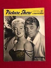 """1954, Marilyn Monroe, """"Picture Show"""" Magazine (Scarce)"""