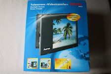 Hama TeleScreen Video Transfer Daylight Screen, Old Movies. Pre Owned.
