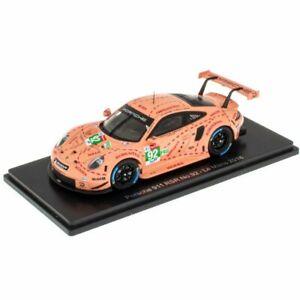 Spark Porsche 911 RSR Christensen Estre 2018 24 Hours Le Mans 1:43 Diecast