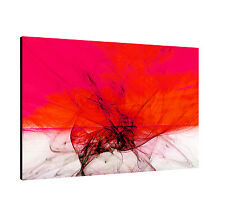 """Image Paul Sinus Series Enigma On Canvas Timeless Pink Red Grey 47.2 x 31.4"""""""