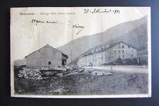 Cartolina viaggiata 1901 Piemonte MONCENISIO Albergo della Posta vecchia