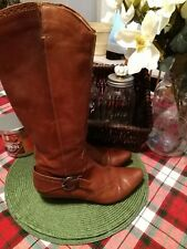 Georgious ladies Italian made Naturalizer Leather boots size 36 EU.