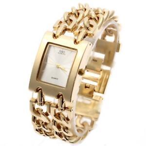 G&D Women Wristwatches Quartz Watch Gold Relogio Feminino Dress Watch Relojes Mu