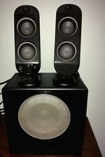 Logitech X-230 Computer Speakers with Subwoofer Good Used