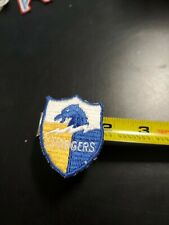 "Vintage San Diego Chargers Patch Football New 2 "" 1970's embroidered shield logo"