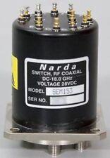 Narda/L3 DC-18 GHz 28V SP5T RF Coaxial Switch SEM 153/SEM153 SMA 5 Position