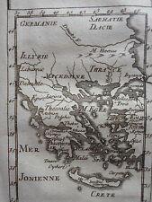 CARTE les ASSPECTS du CIEL GRAVURE originale PLUCHE SPECTACLE de LA NATURE 1729