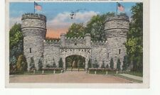 1934 Used Linen Color Postcard Point Park, Lookout Mountain, Chattanooga, TN