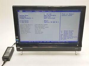 """HP Touchsmart 600-1155 23"""" HD i7 Q720 1.60GHz 2GB NO HDD GT 230M TV Card AIO PC"""