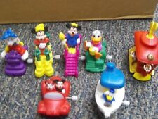Burger King Kids Club Toys (lot-of-7) Disney Mickey Minnie Donald Duck  (B-101)