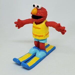 Vintage Elmo Water Skiing PVC Figure Sesame Street Applause Cake Topper