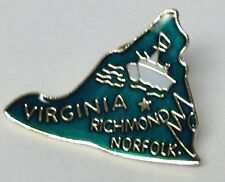 VIRGINIA STATE LAPEL PIN HAT TAC NEW
