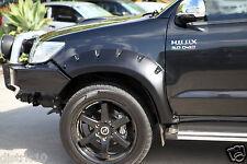 HILUX TOYOTA 2011-2015 FRONT TOUGH PLASTIC FLARE GUARD DUAL CAB SR5 UTE 100% FIT