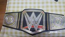 WWE MATTEL WORLD HEAVYWEIGHT TITLE BELT CHAMPIONSHIP USED WWF WCW TNA