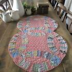 Lovely+30s+Vintage+Wedding+Ring+CUTTER+QUILT+PC+38x22%22+Cottage+Farmhouse