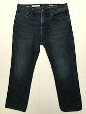 Gap jeans mens size 34 x 30 standard blue dark wash BT23