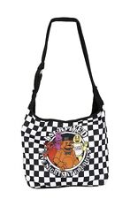 Five Nights At Freddy's I Survived Checkered Hobo Bag Purse Tote