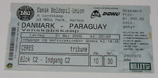 Ticket for collectors * Denmark - Paraguay 2006 in Aarhus