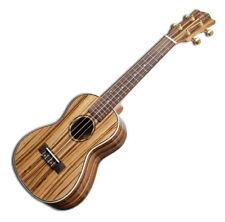 Snail Ukt-528 Zebrawood Tenor Acoustic Ukulele