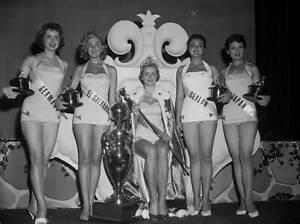 Miss Universe Hellevi Rombin Finland 1955 OLD PHOTO 2
