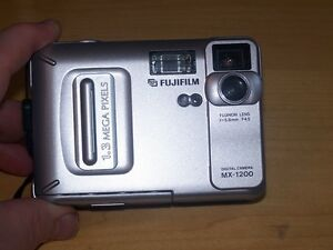 FUJIFILM MX1200 DIGITAL CAMERA-SILVER