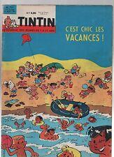 TINTIN n°721 - 16 Aout 1962 - Complet très bel état