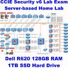 Cisco CCIE Security Virtual Lab INE Dell R620 128GB RAM 1TB SSD ISE FMC CSR1000v