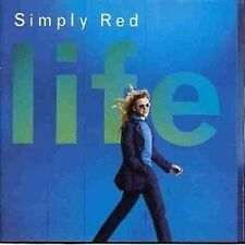 Simply Red Life CD 1995 Fairground/Never Never Love+