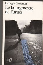 Georges Simenon - Le bourgmestre de Furnes - bon état