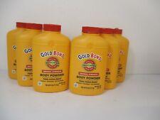 6 Gold Bond Original Strength Triple Action Relief Body Powder 4oz ea Jl 11161