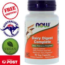 Now Foods, Dairy Digest Complete, 90 Vegan Capsules - Dairy Tolerance Enzymes