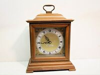 SETH THOMAS MANTLE OR TABLE CLOCK, QUARTZ AND BATTERY OPERATED