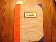 "Saul Steinberg 1st Edition "" The New World "" Ex Library Mark Curto"