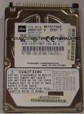Lot of 20 MK1517GAP Toshiba HDD2157 15GB 2.5in IDE Drive Tested Free USA Ship