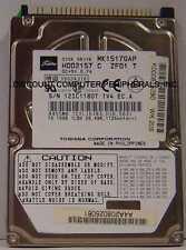 "10% off 2+ MK1517GAP Toshiba HDD2157 15GB 2.5"" IDE Drive Tested Free USA Ship"