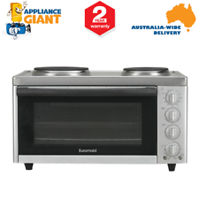 Euromaid MC130T Oven Grill + Solid Plate Cooktop