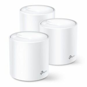 Tp-Link Deco X60 Whole Home Mesh Wi-Fi 6 System 3 Pack Dual Band Ax3000 Ofd