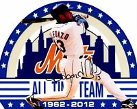 Edgardo Alfonzo autographed signed MLB New York Mets 8x10 photo