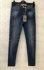 Brand New New Look Men Skinny Stretch Blue Jeans Size 30/ 32