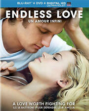 Endless Love (Blu-ray + DVD + Digital HD, 2014, 2-Disc Set) NEW SEALED