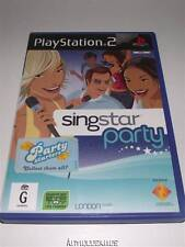Singstar Party PS2 PAL Preloved *Complete*