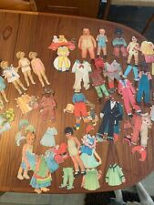 Vintage Lot Of 50+ Paper Dolls & Clothes, 1930s Shirley Temple & Our Gang/Little