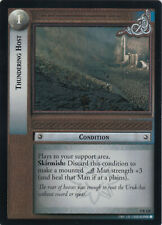 Lord of the Rings CCG TCG Helm's Deep - THUNDERING HOST 5R128 - RARE